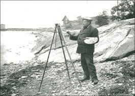 Edvard Munch i Åsgårdstrand.