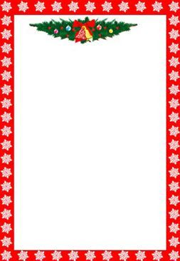 Free Christmas Clip Art Borders - Bing Images