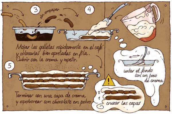 Cartoon Cooking: Tiramisú. Y punto.