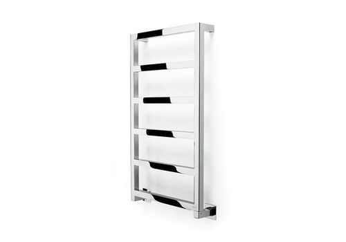 Electrical towel radiator / wall-mounted / stainless steel / vertical STEEL GLAM by Gonçalo Byrne FOURSTEEL
