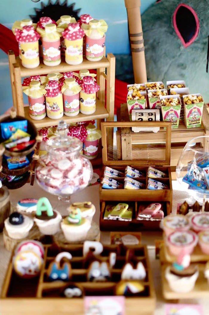 Tropical Tiki Birthday Party at Kara's Party Ideas. See more at karaspartyideas.com!