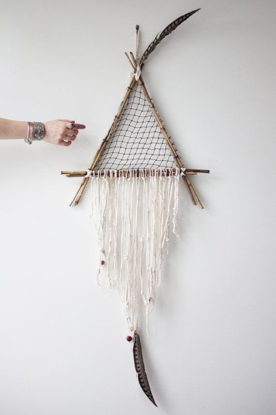I Like This But Think Would Do The Weaving Inside A Different Way Giant Dream CatcherDreamcatchersXmas TreeLiving Room