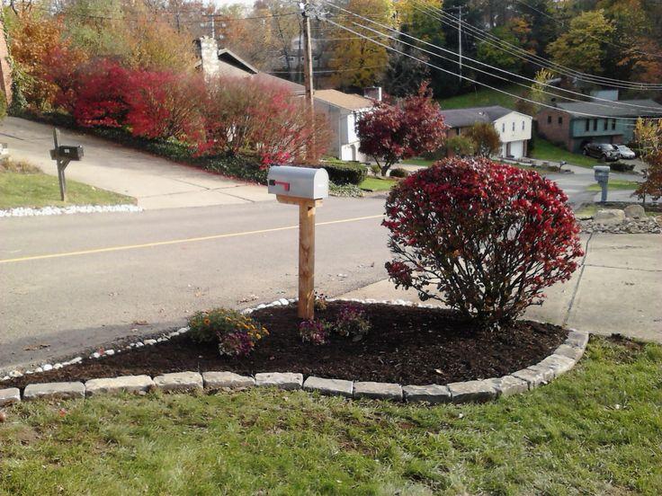 Garden Ideas Around Mailbox 31 best mailbox landscape images on pinterest | mailbox garden