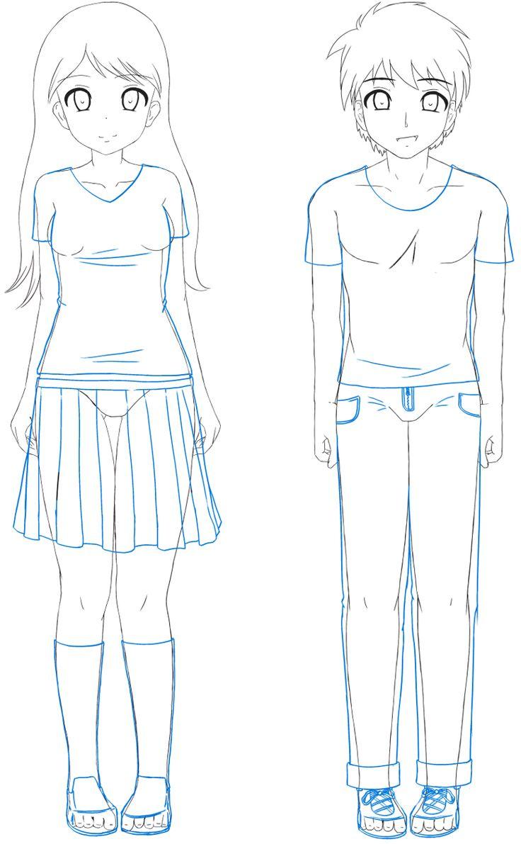 Sekai s Blog Apprendre  dessiner Manga Tutoriel Manga ment dessiner les habits