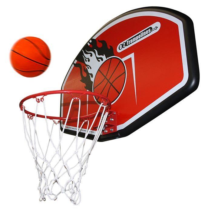 Trampoline Basketball Ring And Backboard - Great Fun
