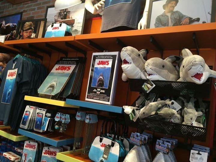 Moribund Merchandise For Jaws At Universal Studios