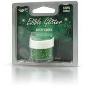 Rainbow Dust Holly Green Edible Glitter