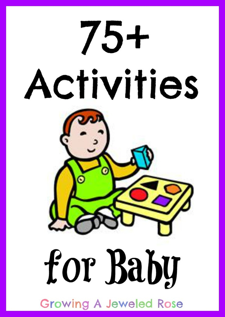 TONS of activities for babies- Baby play collection from Growing A Jeweled Rose