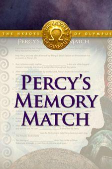 Heroes of Olympus Memory Match Game