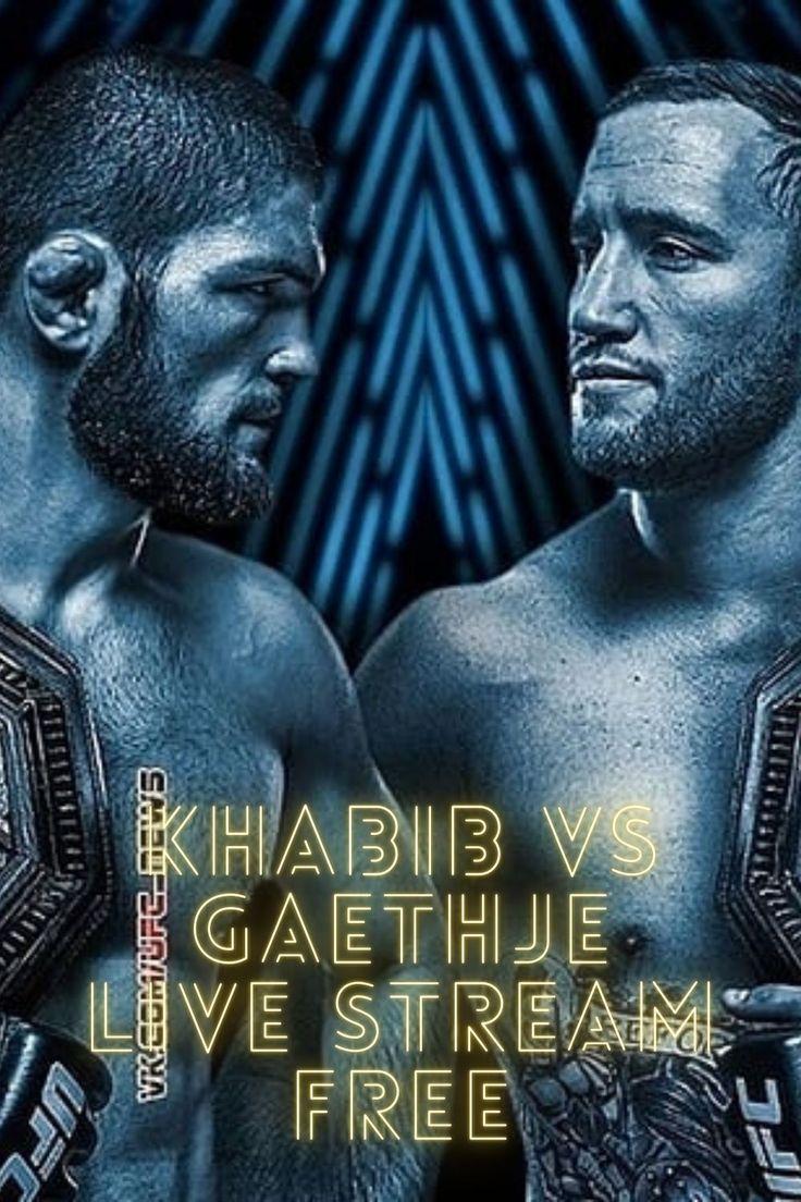 Watch UFC 254 Live Online | Khabib vs Gaethje Live
