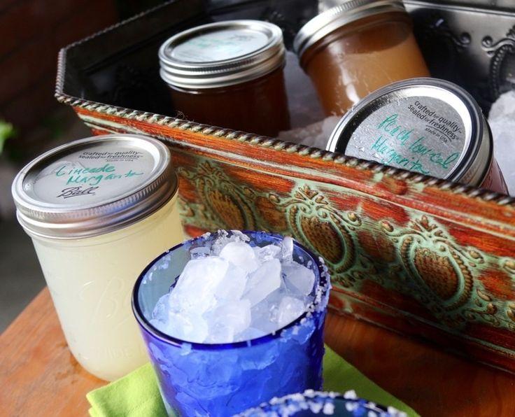 Three great margarita recipes including a grapefruit margarita, a skinny peach margarita and a limeade margarita.