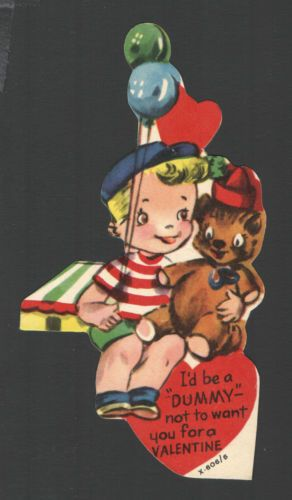 Valentine S Day Toy Prizes : Best images about vintage valentine cards clowns