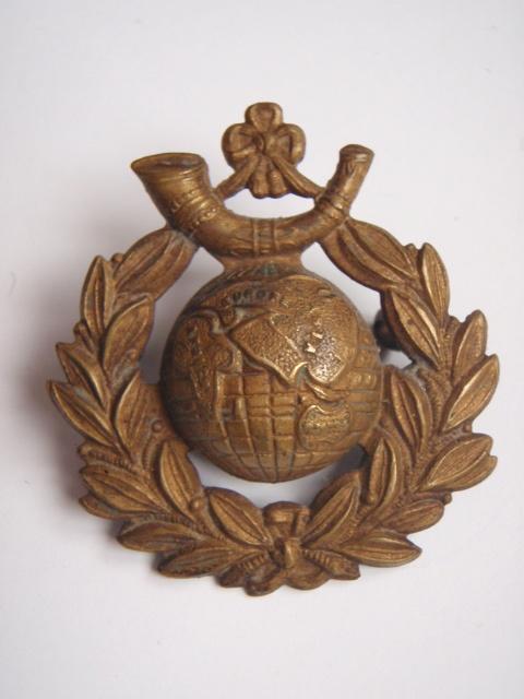 Royal Marine Light Infantry Cap Badge