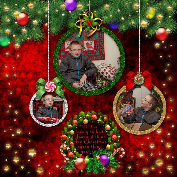 Christmas with Jason by moog. Kit: A Grand Christmas Instant Album by Lora Speiser http://scrapbird.com/designers-c-73/k-m-c-73_516/lora-speiser-c-73_516_512/a-grand-christmas-instant-album-plus-p-15433.html