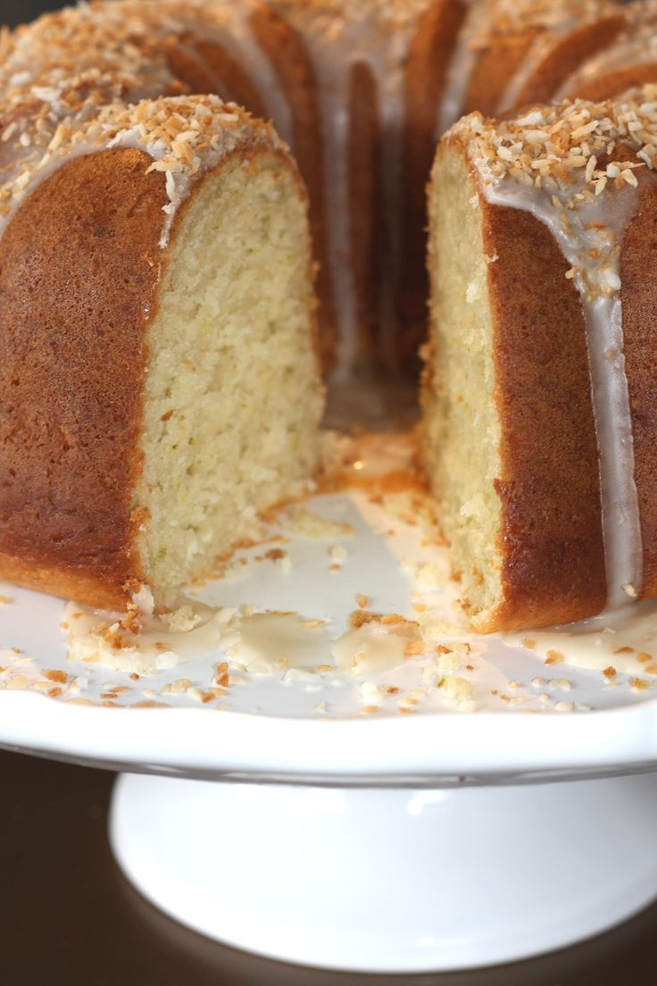 Coconut Cream Cheese Bundt Cake Bundt Cake Pan Coconut