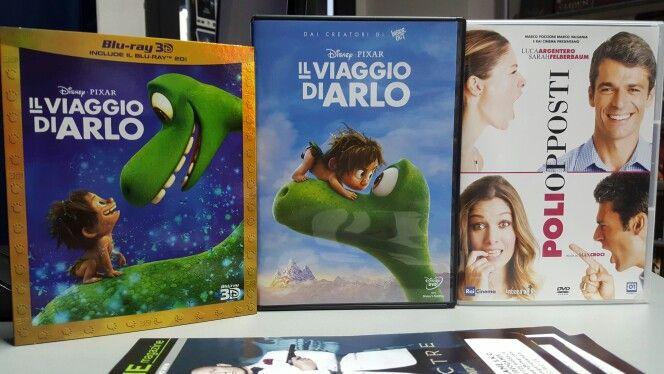 #StaseraFilm - Novità DVD del 18 Marzo 16: - POLI OPPOSTI - IL VIAGGIO DI ARLO Disponibili a noleggio in DVD e BLU RAY DigitalGame - Marsala - www.ondagame.it
