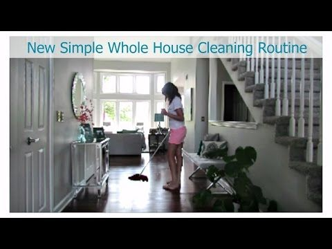 My New Whole House Cleaning Routine   Clean with Me Vlog Style   Cleaning Motivation - YouTube