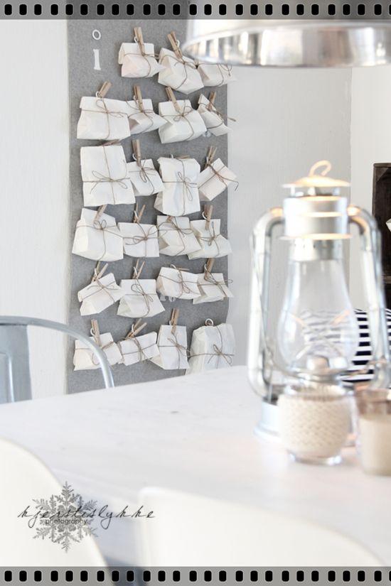 Love this idea for an advent calendar (from emma's design blog)