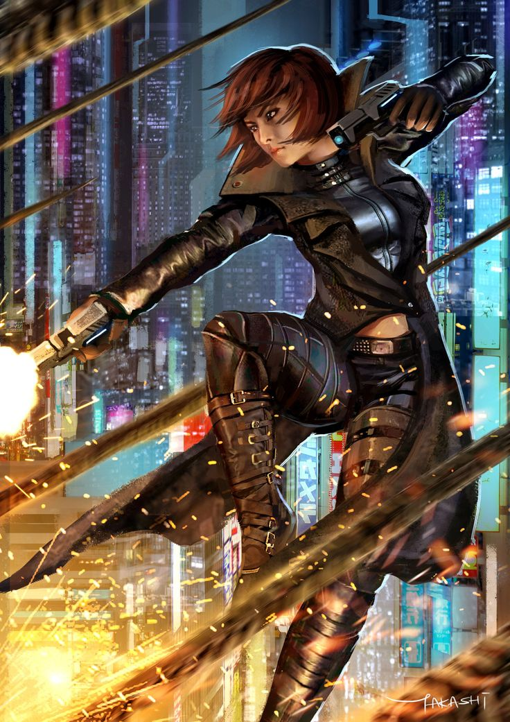 Sci Fi GunFighter, Takashi Tan                                                                                                                                                                                 More