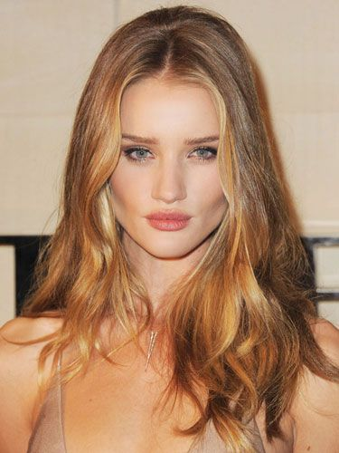 Rosie Huntington Whiteley Beach Waves