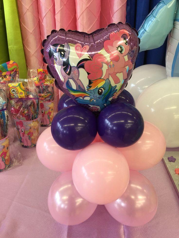 My little pony balloon centre piece 82