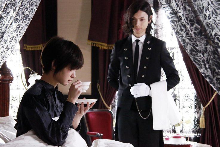 """Ayame Gôriki, Hiro Mizushima in """"Kuroshitsuji"""" (Kentarô Ohtani/ Kei'ichi Sato, Japan 2014)"""