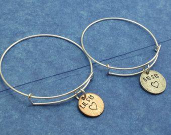 2 Sister bracelet sister bracelet for 2, 3 Sister bracelet sister bracelet for 3, Big sister gift big sister little sister