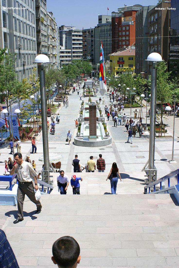 Ankara Izmir caddesi