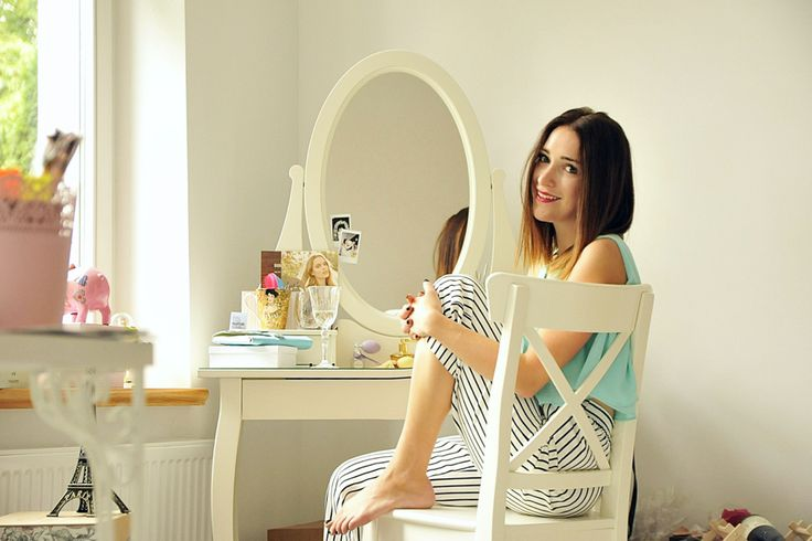 sombre #ombre #sombre #interior #white #dressing #ikea #hemnes #mirror