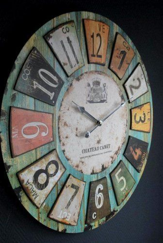 Uhr Wanduhr Romantik Landhaus 60 cm Vintage Antik Look II 73 von Sopo Tomas Ulbrich, http://www.amazon.de/dp/B007Q1GLBS/ref=cm_sw_r_pi_dp_1.0etb1YCN69C