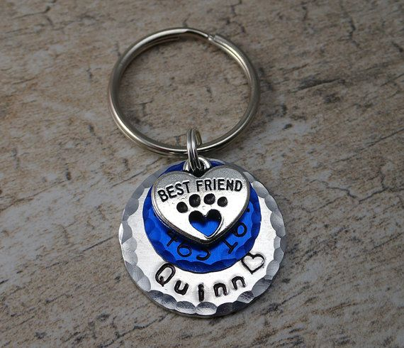 Blue Pet Tags - Dog ID Tags - Pet ID Tags - Cat Id Tag - Dog Tag - Cute Pet Tag - Durable Pet Tag - Pet Tag - Small Cat Tag - Small Dog Tags
