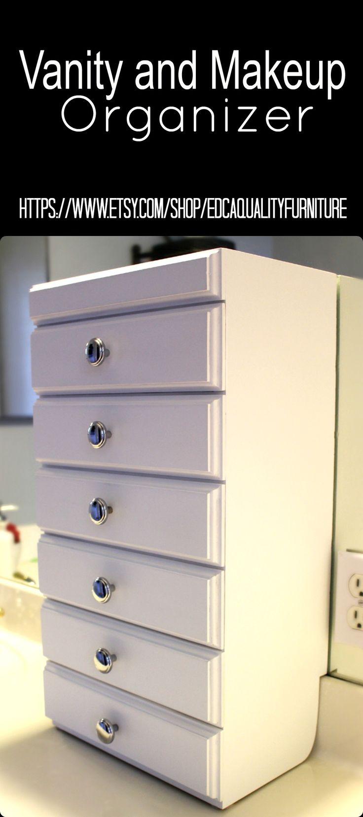 Best 25 makeup storage drawers ideas on pinterest - Bathroom vanity drawer organizers ...