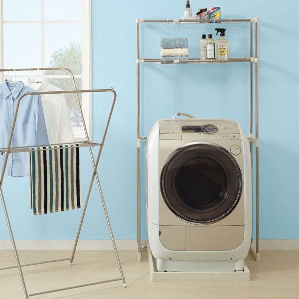 ステンレス洗濯機ラック(グラン)