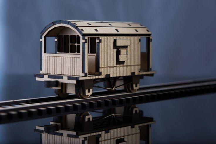 Railway Brake Wagon – Laser Cut Plans