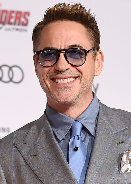 Actor Robert Downey Jr attends the premiere of Marvel's 'Avengers Age Of Ultron' at Dolby Theatre on April 13 2015 in Hollywood California