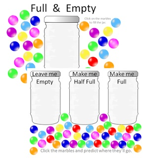Amazing little Powerpoint for Full & Empty