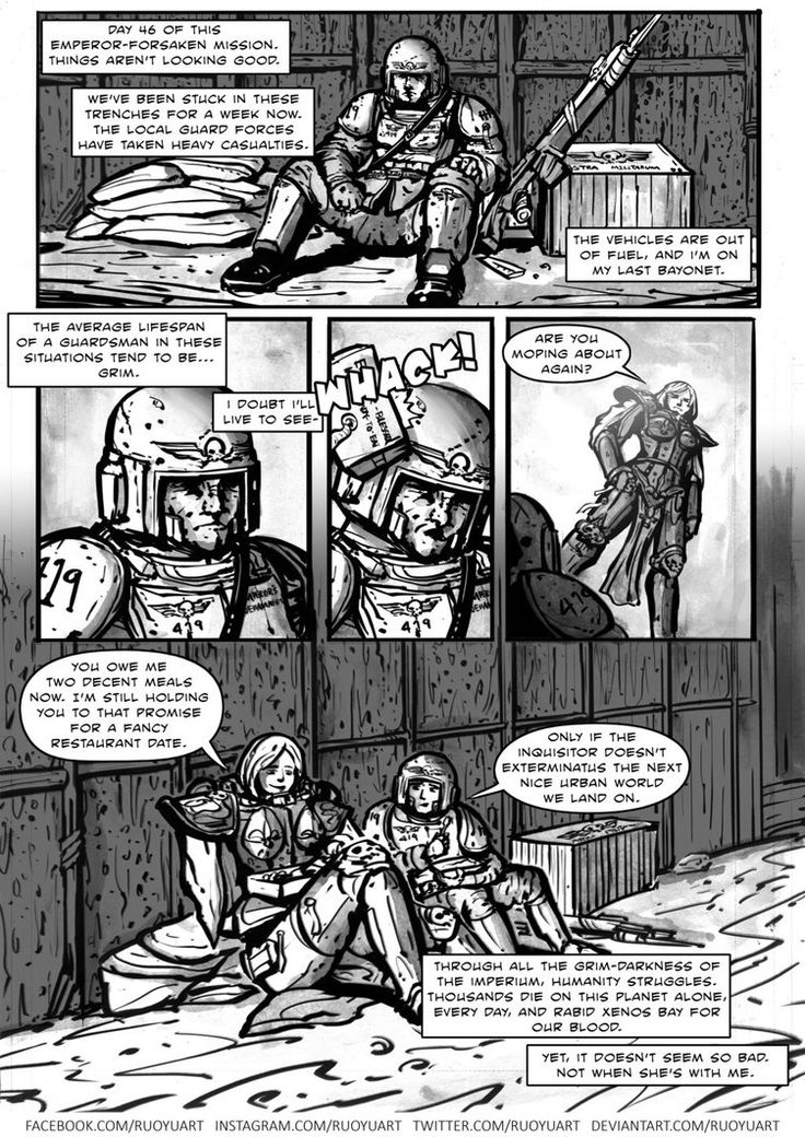 40k Romance Comic By Https Www Deviantart Com Ruoyuart