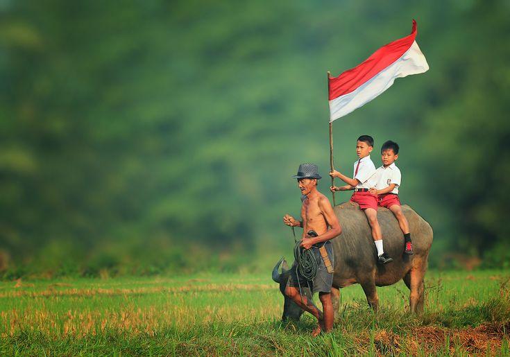 Indonesia Flag 01
