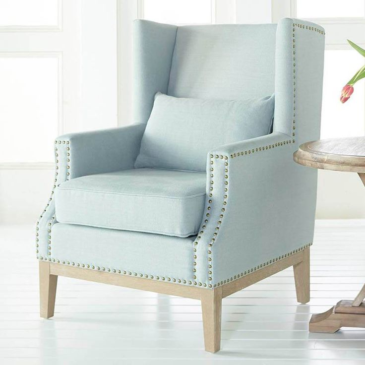Orient Express Furniture Calista Wingback Accent Chair | From Hayneedle.com