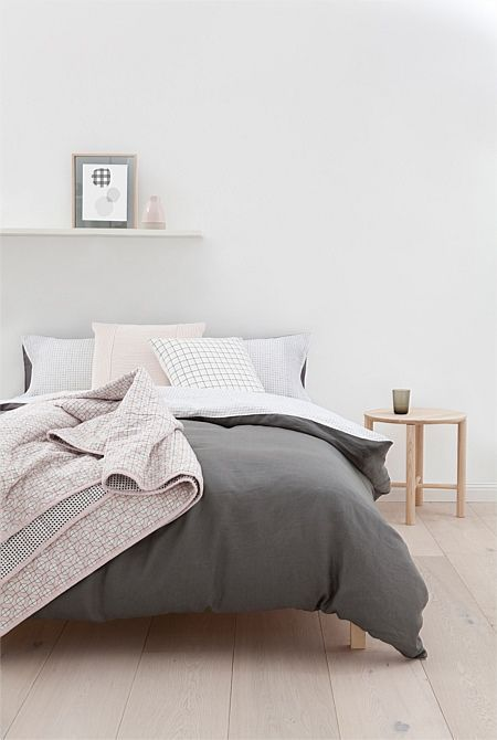Bed & Bath Online | Country Road Australia - Meta King Quilt Cover