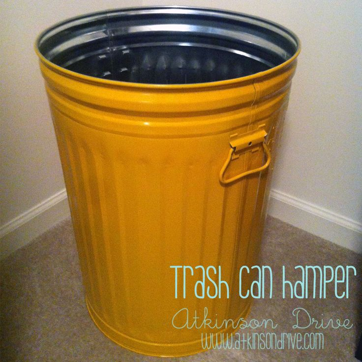 how to keep a garbage can from smelling