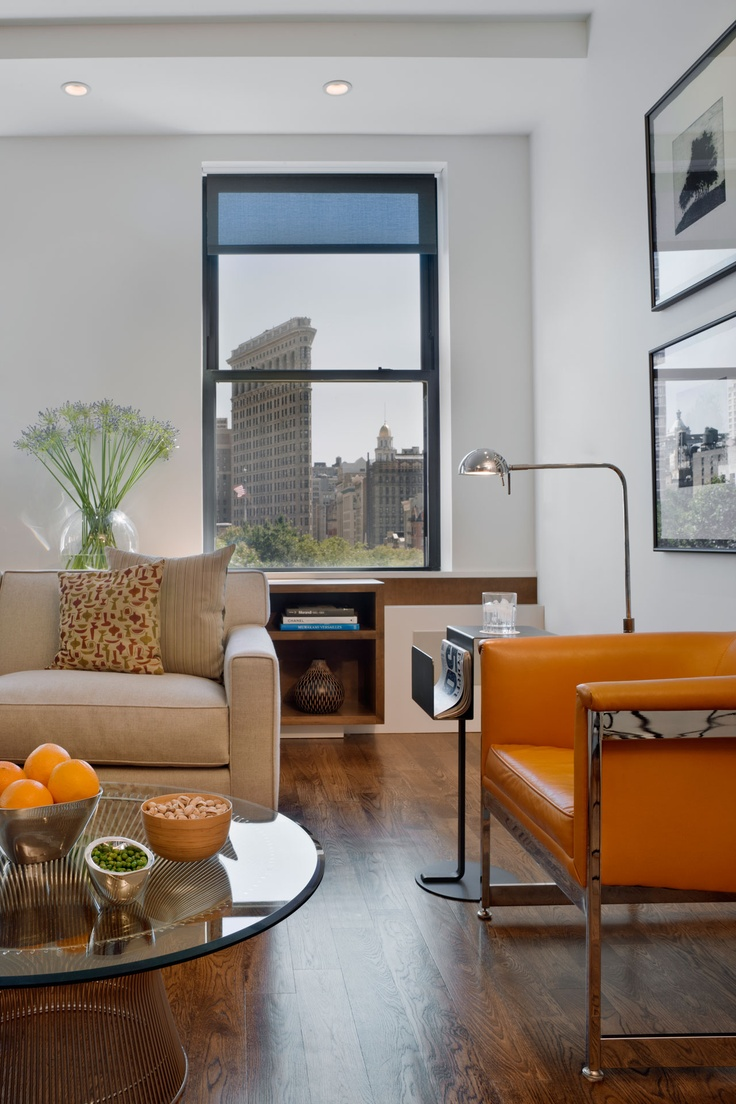 New York Interior Design   ix design   NYC Beautiful, clean design. Perfect setting for a Dials painting...