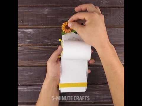 DIY - Kertas roll yang sangat berguna untuk membuat catatan dengan mudah