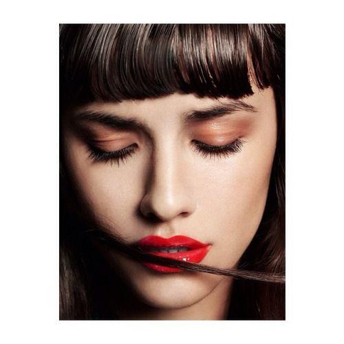 Photographer @thanassiskrikis shoots @charlotteocofficial for @instyleuk. Beauty director @cassiesteer, Hair @christoskallaniotis, Make up @pollyosmond
