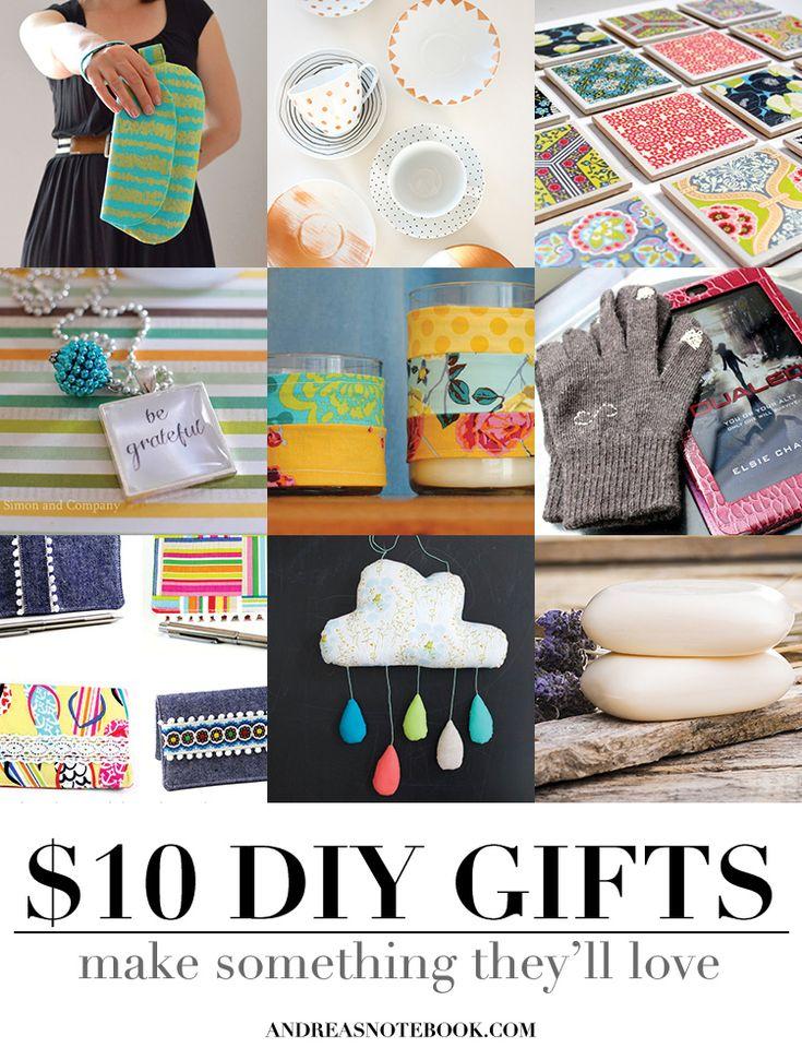handmade gifts under 10 dollars