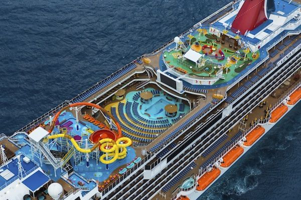 Carnival Breeze Main Deck And All It S Festivities