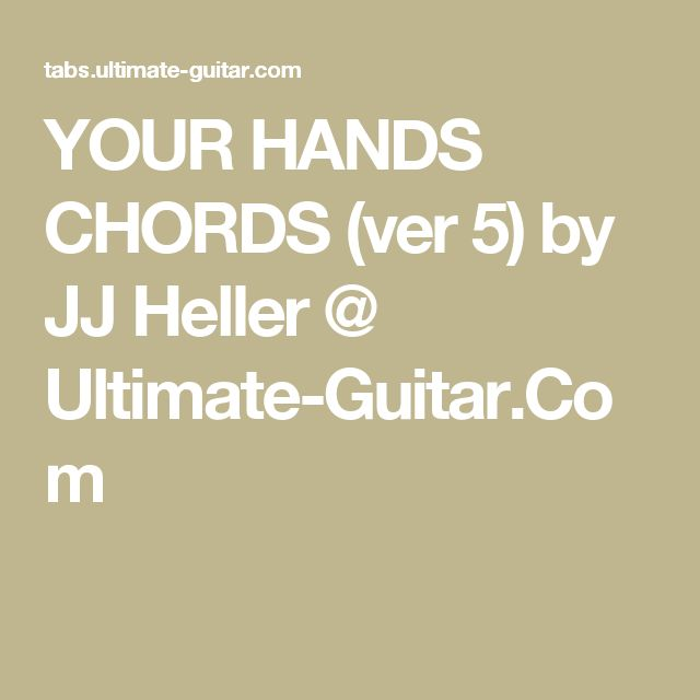 ChordU  chords for any song
