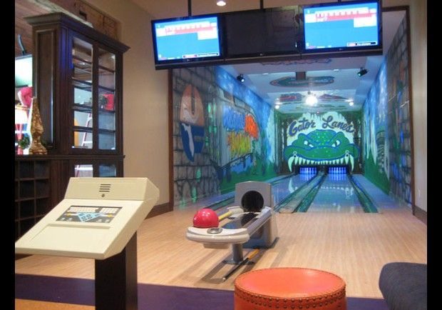 Bowling alley? Yes please.