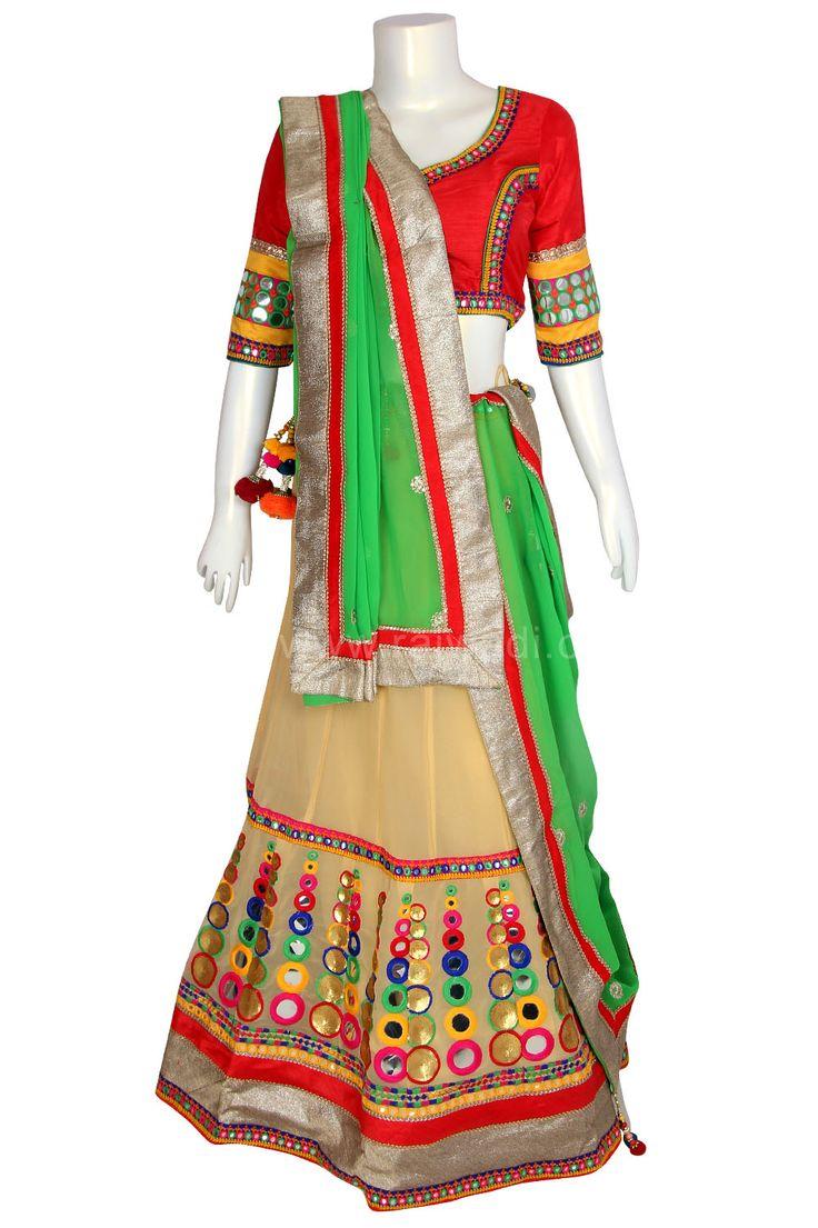 Designer Navratri Chaniya Choli #Garba #Dance #Navratri #Festival #Rajwadi #ChaniyaCholi #NewArrival #grabit #Navratricollection #Navratri2015
