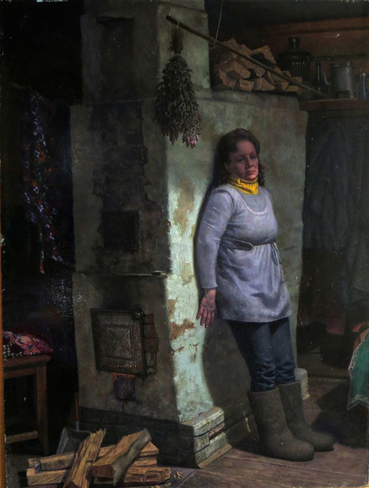 Деревенские мотивы в живописи Геннадия Проваторова - дневник среднестатистической женщины